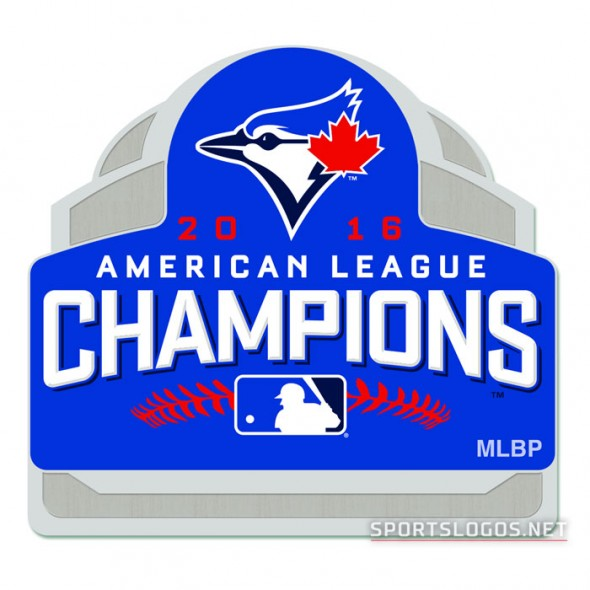 Toronto Blue Jays 2016 AL Champs Pin