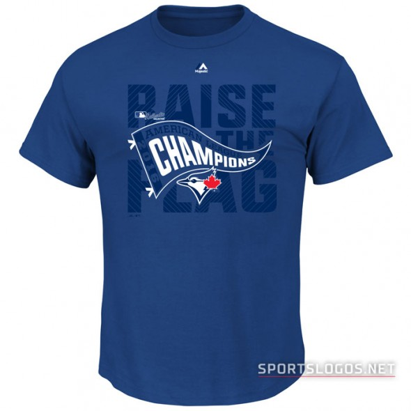 Toronto Blue Jays 2016 American League Champions Locker Room T-Shirt