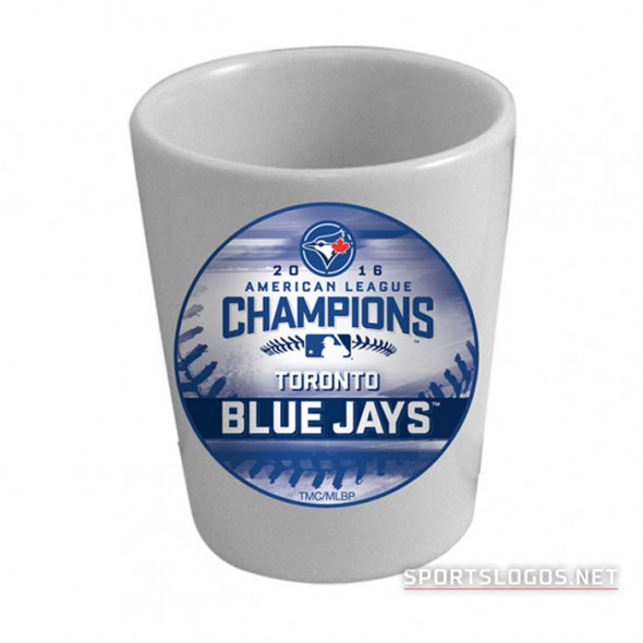 Toronto Blue Jays 2016 American League Champions Shot Glass