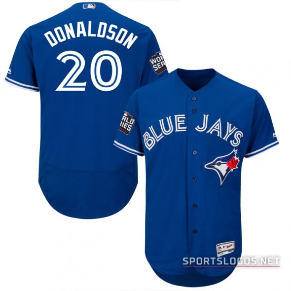 Toronto Blue Jays 2016 World Series Alternate Jersey Josh Donaldson
