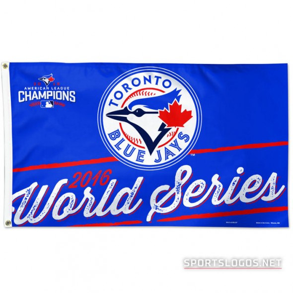Toronto Blue Jays 2016 World Series Flag