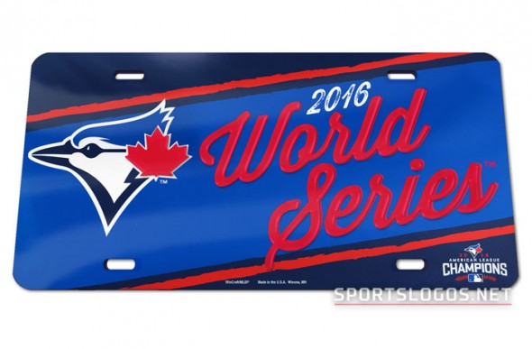Toronto Blue Jays 2016 World Series License Plate