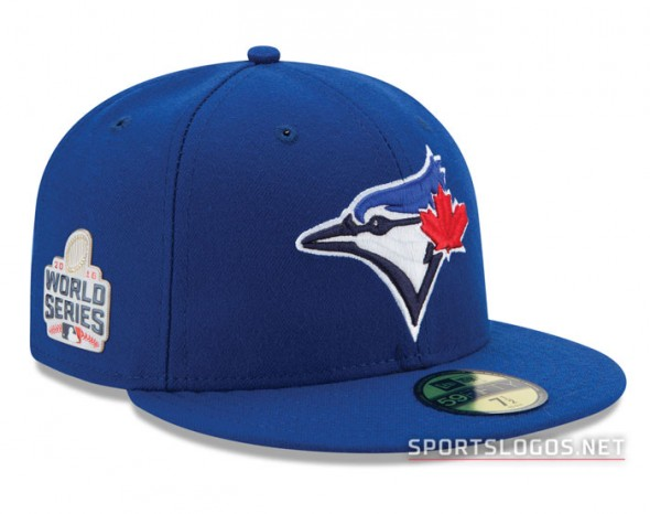 Toronto Blue Jays 2016 World Series On Field Cap