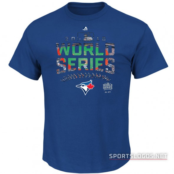 Toronto Blue Jays 2016 World Series T-Shirt