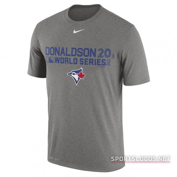 Toronto Blue Jays 2016 World Series T-Shirt Josh Donaldson