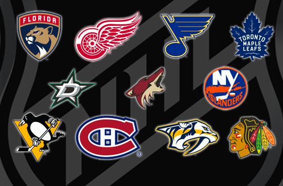 44ca9c68f15dc4 Opening Night 2016-17 NHL Team Logo Power Rankings | Chris Creamer's ...