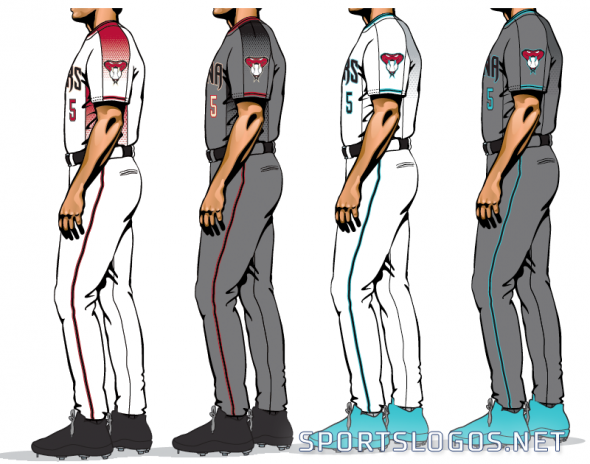 Arizona Diamondbacks New Pants 2017