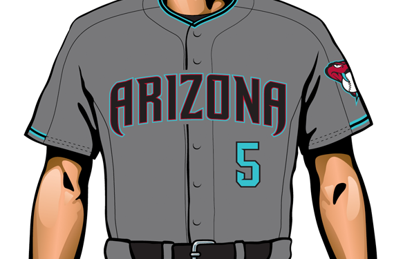 Arizona Diamondbacks New Road Alt Uniform 2017