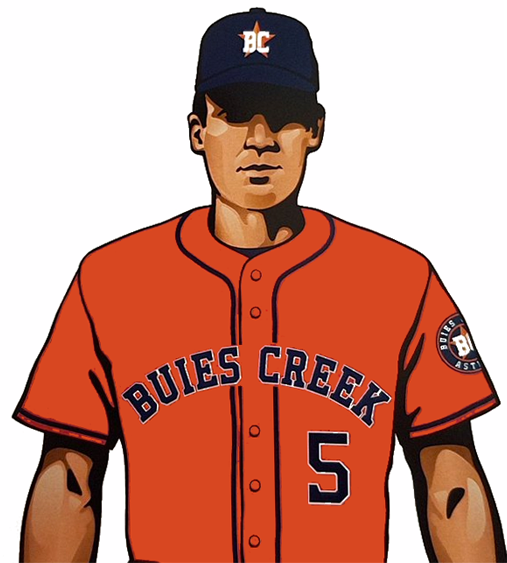 Buies Creek Astros Uniform