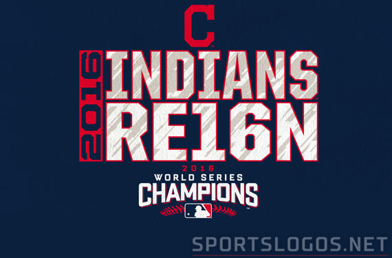 Cleveland Indians 2016 Phantom World Series Champs