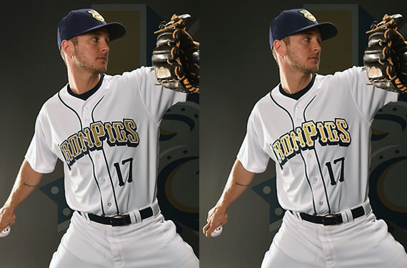IronPigs, Majestic Unveil First-Ever Reflective Baseball Jersey