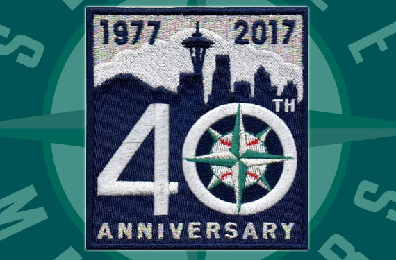 Mariners Announce, Unveil 40th Anniversary Patch for 2017