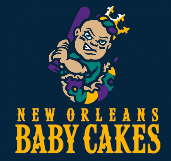 New Orleans Baby Cakes Primary Logo