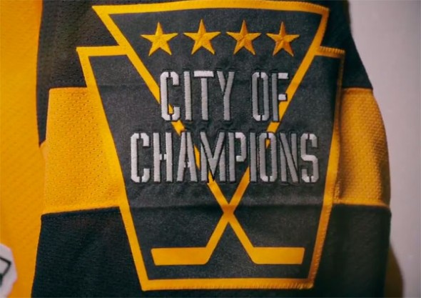 Penguins City of Champions Patch 2017 Stadium Series