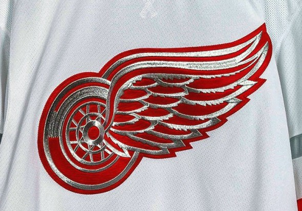Red Wings Centennial Classic Crest