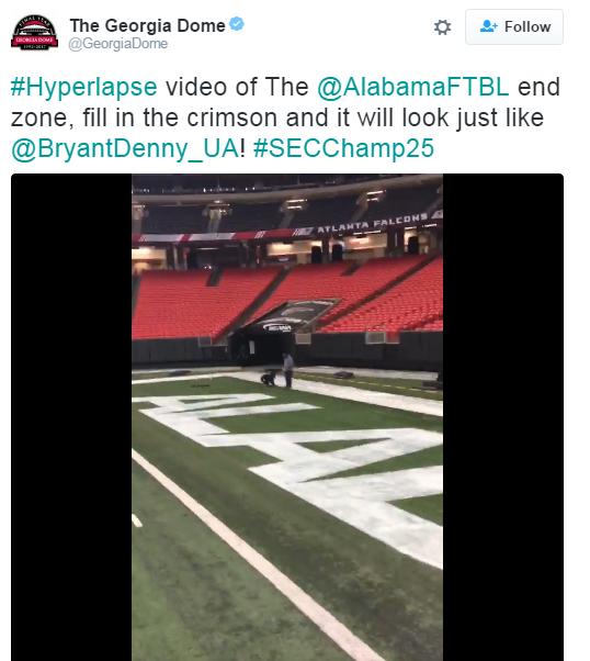 SEC championship endzones 2
