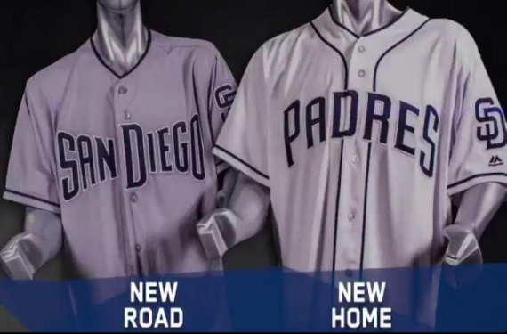 San Diego Padres unveil new home-and-road uniforms for 2017