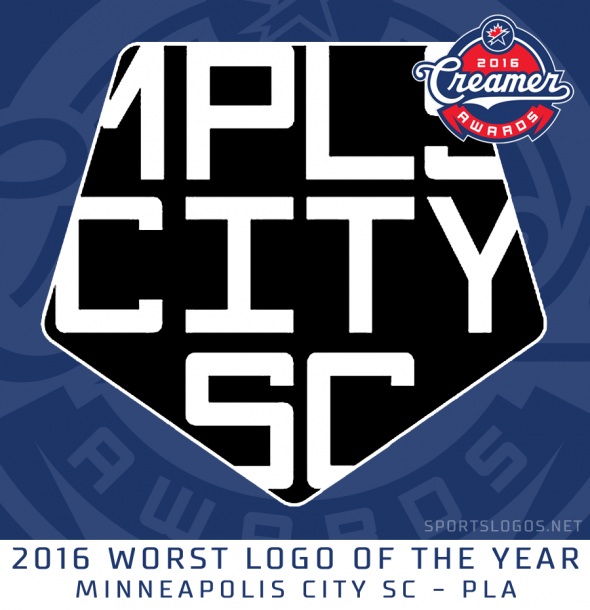 2016 Worst Logo - Minneapolis City SC