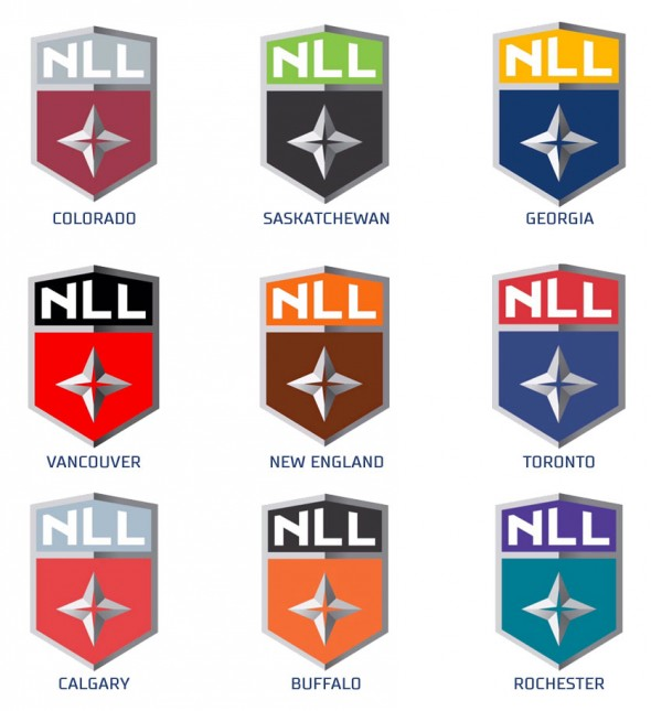 2017 nll logo colourways by team