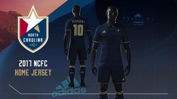 North Carolina FC kits 1