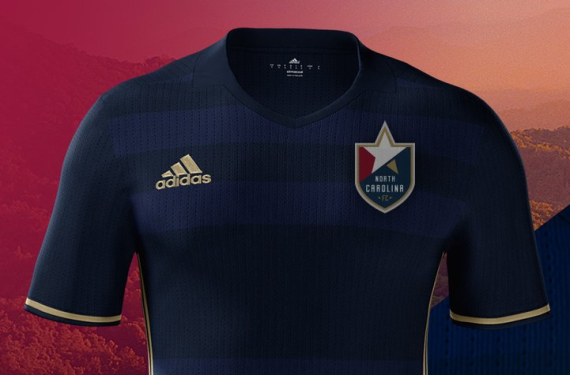 North Carolina FC unveils home kit; bonds with Norwich City over hashtags