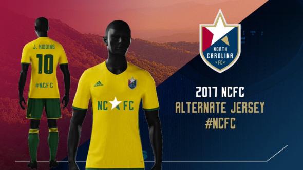 North Carolina fc kits 3