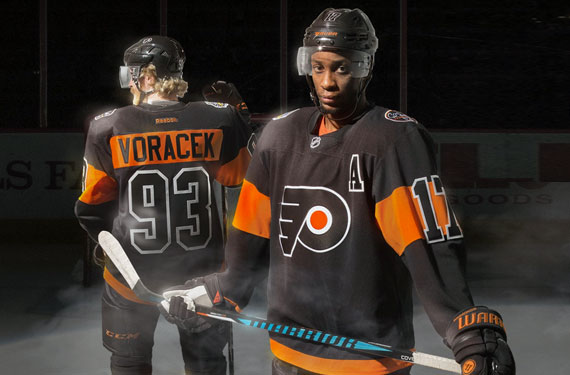 newest d36b5 2cf69 Philadelphia Flyers Back in Black for 2017 Stadium Series ...
