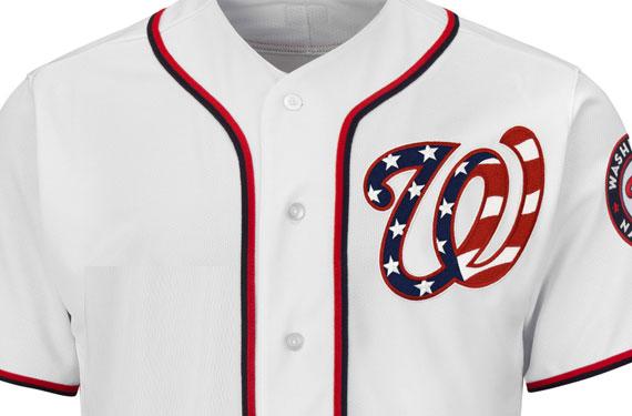 Nats Show Off New Patriotic Uniform for 2017