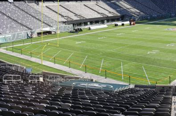 MetLife Stadium will have generic endzones for 2016 Week 15
