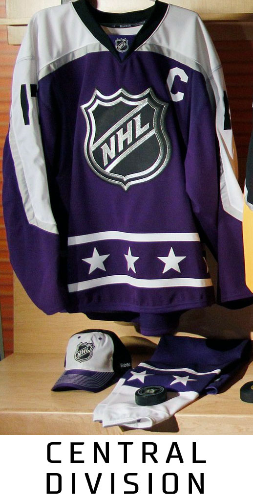 2017 NHL All-Star Game Jersey Central Division 394b5233514