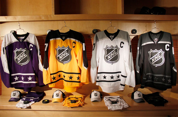2017 NHL All-Star Game Uniforms Unveiled