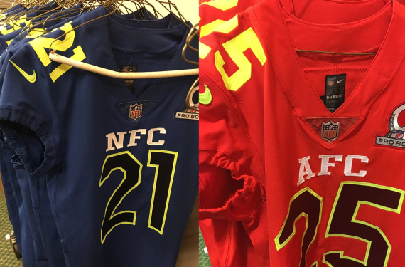 2017 pro bowl uniforms