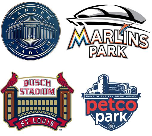 Baseball STadium Logos