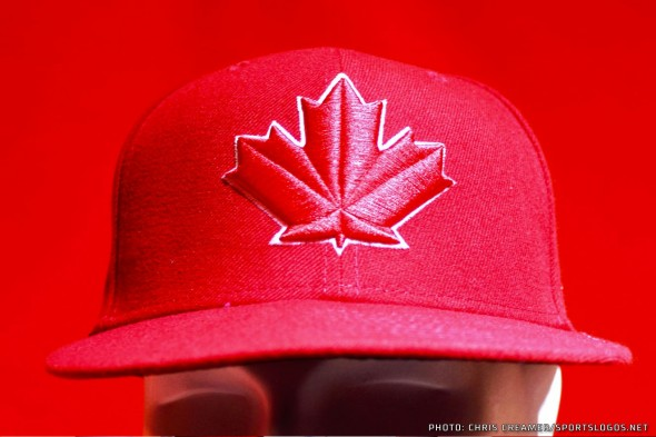 Blue Jays Red Cap Detail