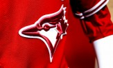 Blue Jays Red Logo Detail