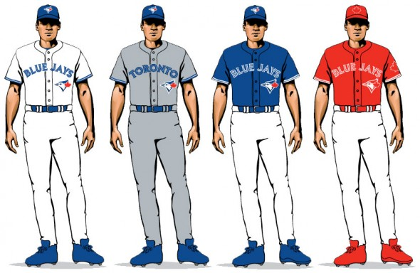 Toronto Blue Jays uniforms for 2017