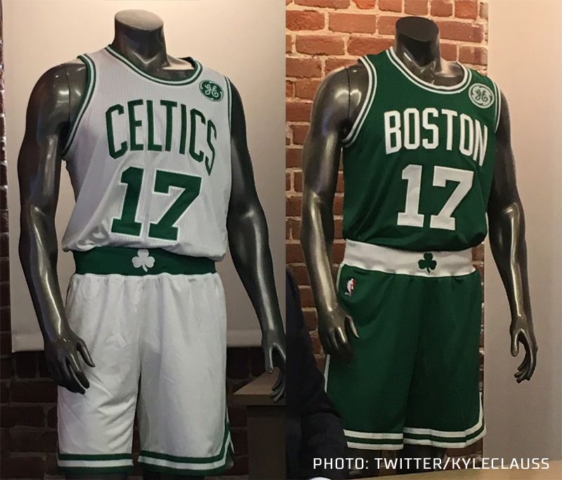 Celtics Announce GE Advertisement on Jersey in 2017-18