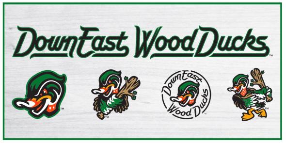 Down East Wood Ducks Logos