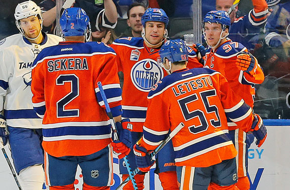 Oilers Confirm Report, Orange Jerseys at Home