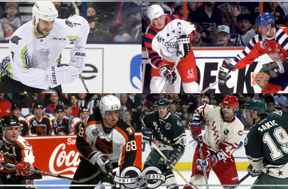 The Most Memorable NHL All-Star Uniforms