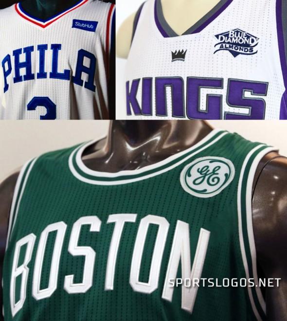 NBA Jersey Ads