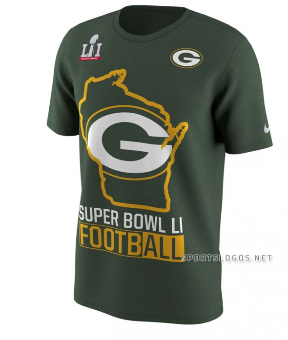 Packers NFC Champs nike
