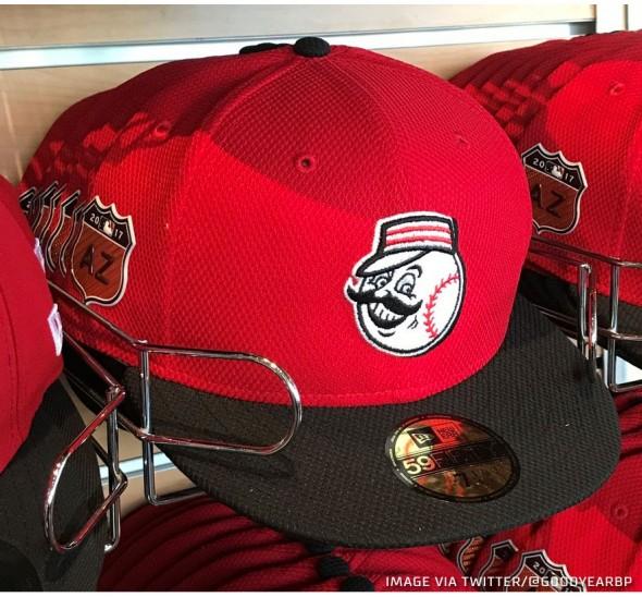 Reds 2017 Spring Cap