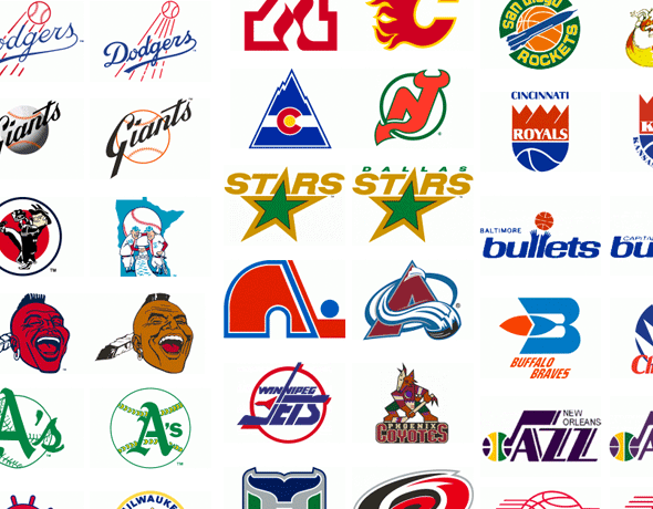 Graphic: Pro Sports Team Relocations and Logo Changes ...
