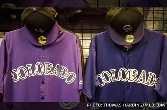Purple Haze: Colorado Rockies Tweak Colours for 2017