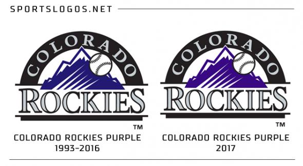 Rockies Purple Change on Logo