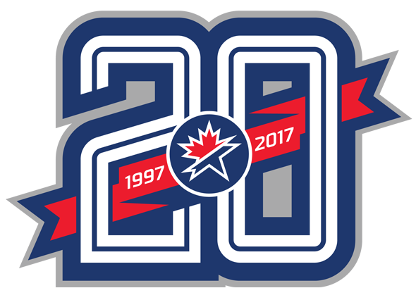 20th Anniversary Logo for SportsLogos.Net
