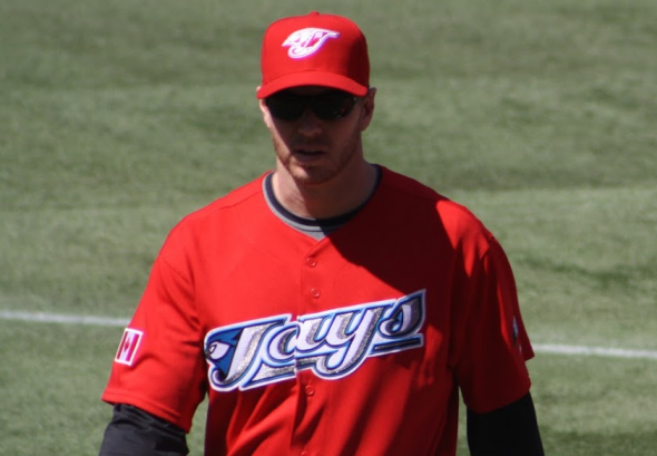 The Jays have worn red on Canada Day many times in the past, including this jersey in 2009 (Photo: Chris Creamer/SportsLogos.Net)