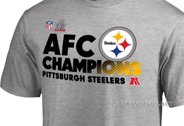 Steelers AFC Champs shirt