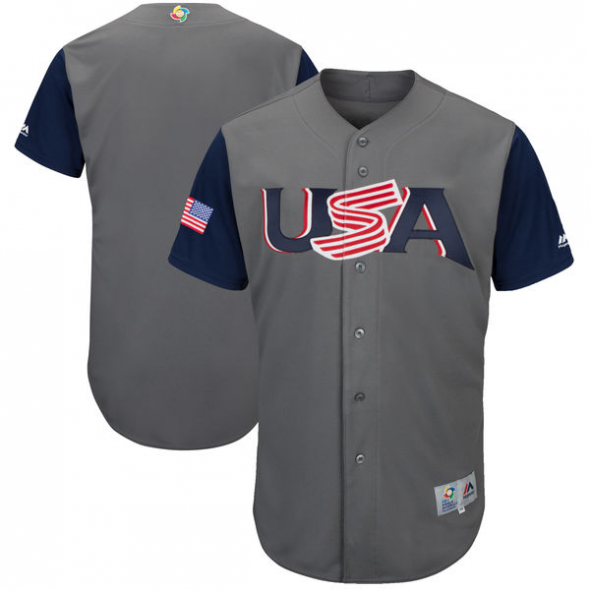 WBC 2017 USA uniforms